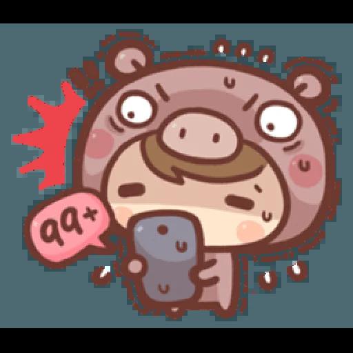 香菇妹&小豬先生 - Sticker 12