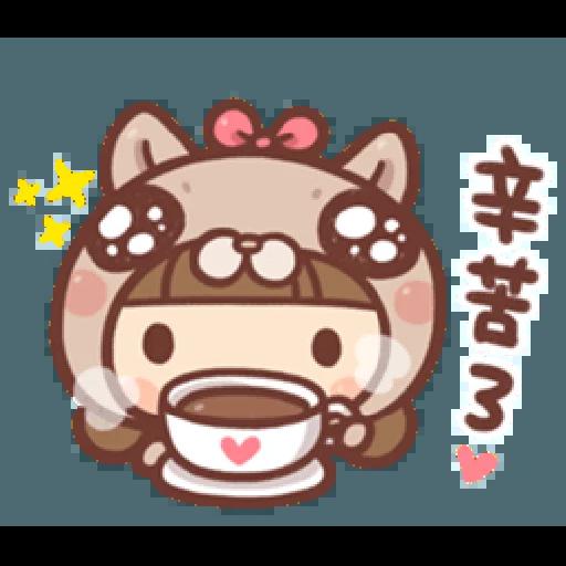 香菇妹&小豬先生 - Sticker 14