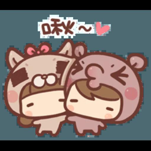 香菇妹&小豬先生 - Sticker 4