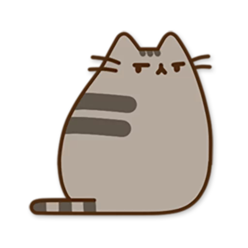 Pusheen2 - Sticker 1