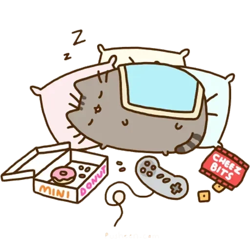 Pusheen2 - Sticker 7