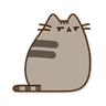 Pusheen2 - Tray Sticker