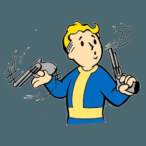 Fallout - Sticker 16