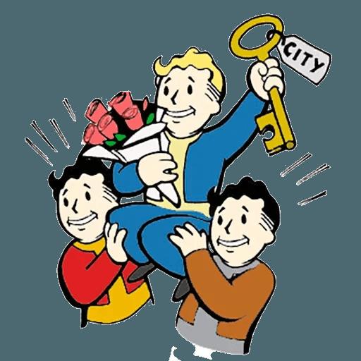 Fallout - Sticker 5