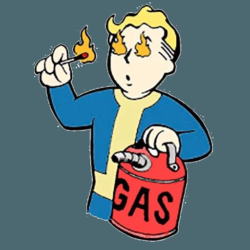 Fallout - Sticker 9