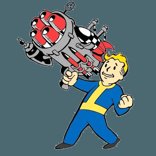 Fallout - Sticker 19
