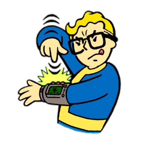 Fallout - Sticker 11