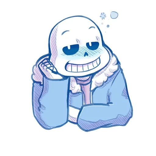 Undertale • Андертейл - Tray Sticker