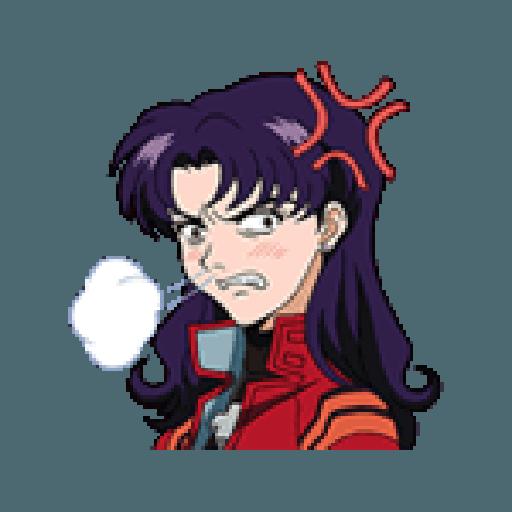 Evangelion Vol2 - Sticker 7