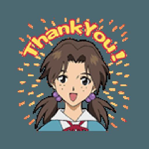 Evangelion Vol2 - Sticker 19