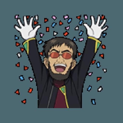 Evangelion Vol2 - Sticker 14