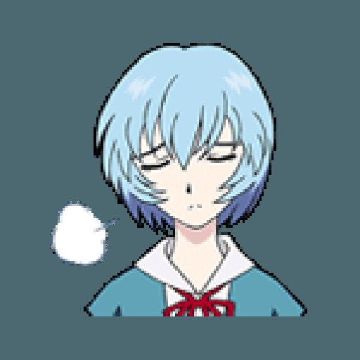 Evangelion Vol2 - Sticker 8