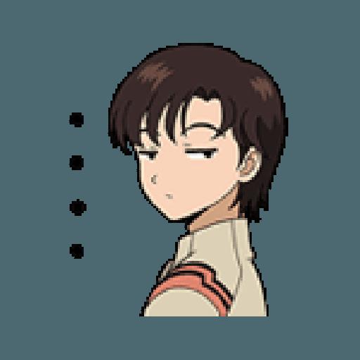 Evangelion Vol2 - Sticker 18