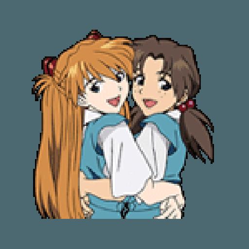 Evangelion Vol2 - Sticker 26