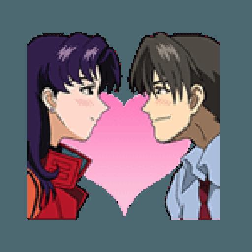 Evangelion Vol2 - Sticker 11