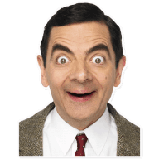Mr. Bean - Sticker 2