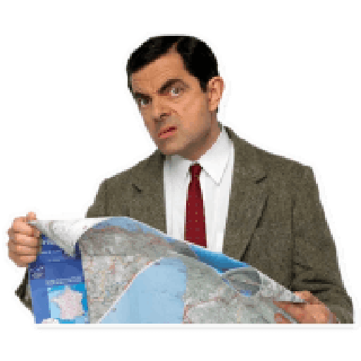 Mr. Bean - Sticker 9