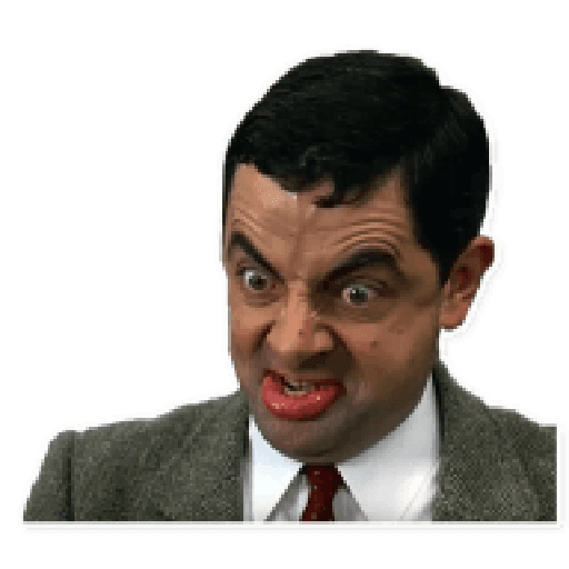 Mr. Bean - Sticker 11
