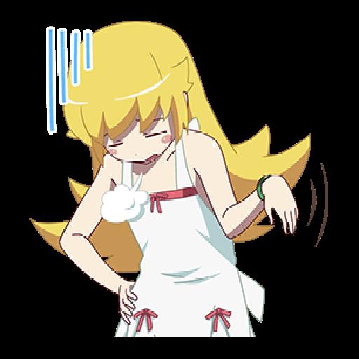 Nisemonogatari_2 - Sticker 7