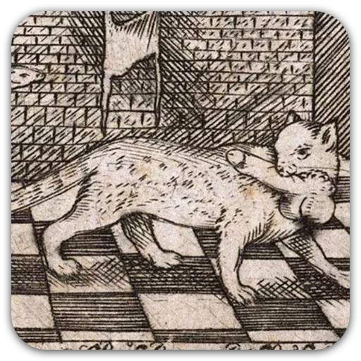 Medieval Cats - Sticker 8