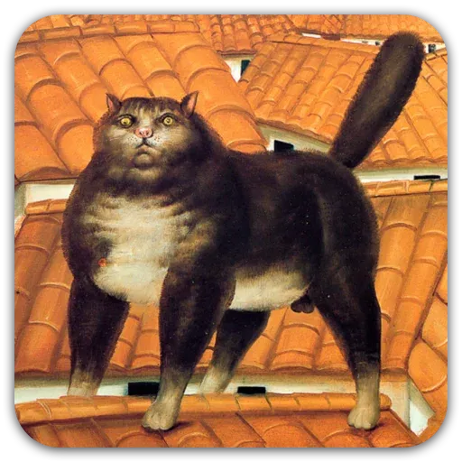 Medieval Cats - Sticker 18