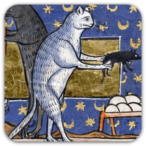 Medieval Cats - Sticker 14