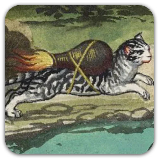 Medieval Cats - Sticker 22