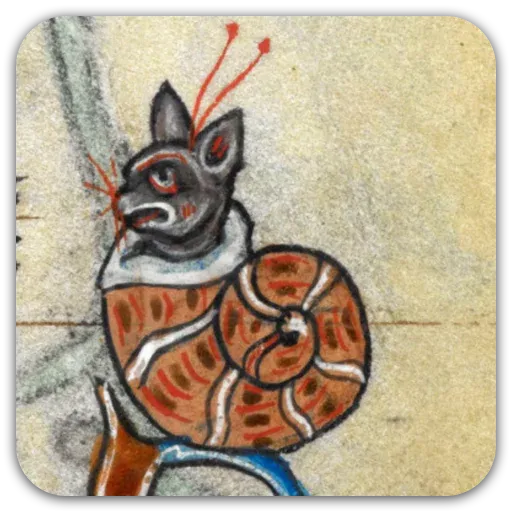 Medieval Cats - Sticker 19