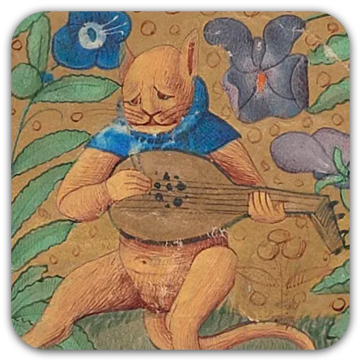 Medieval Cats - Sticker 7