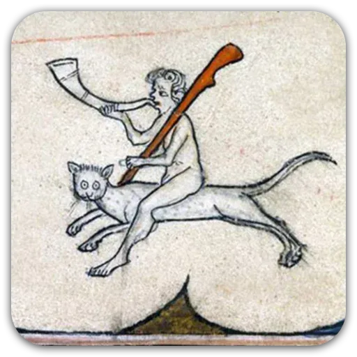 Medieval Cats - Sticker 12