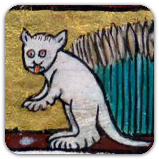 Medieval Cats - Sticker 21