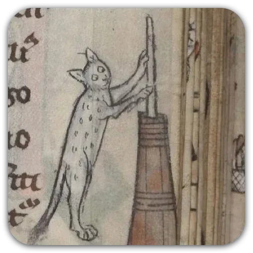 Medieval Cats - Sticker 16