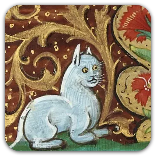 Medieval Cats - Sticker 10