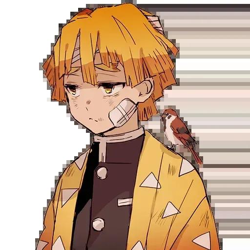 kimetsu faces - Sticker 10