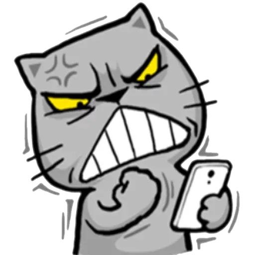 Mad Cat - Sticker 19