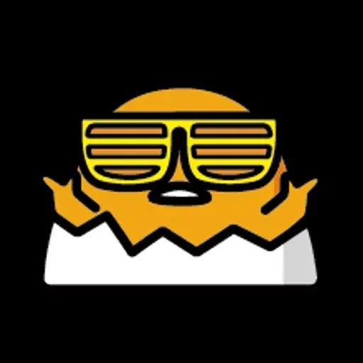 蛋黃哥 - Sticker 23