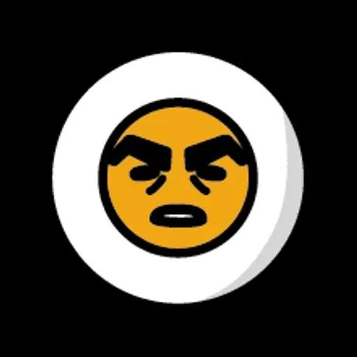 蛋黃哥 - Sticker 20