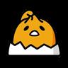 蛋黃哥 - Tray Sticker