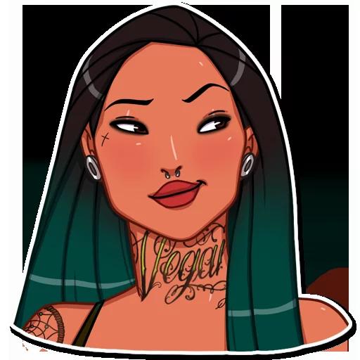 Disney Girls - Tray Sticker