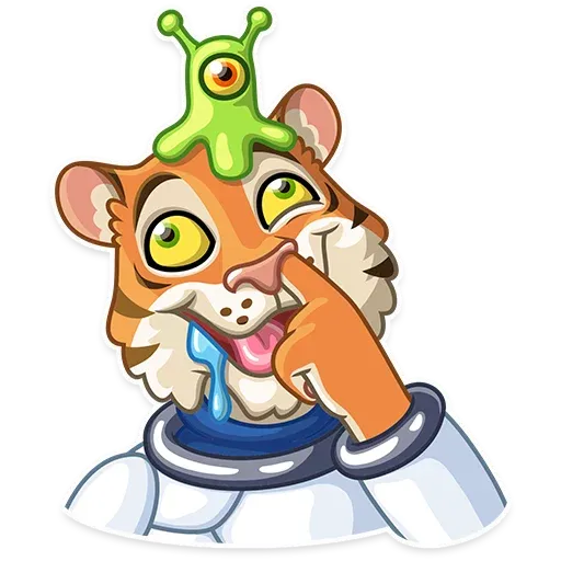 Cosmic Tiger - Sticker 22