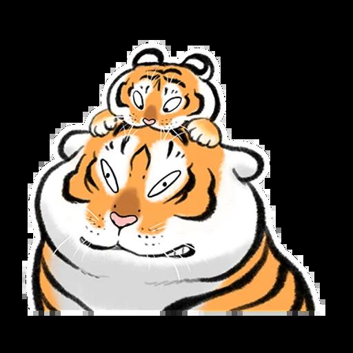 Tiger 🐯 2 - Sticker 19