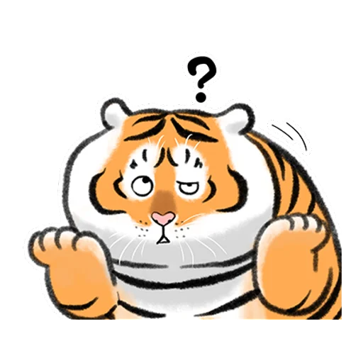 Tiger 🐯 2 - Sticker 27