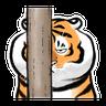 Tiger 🐯 2 - Tray Sticker