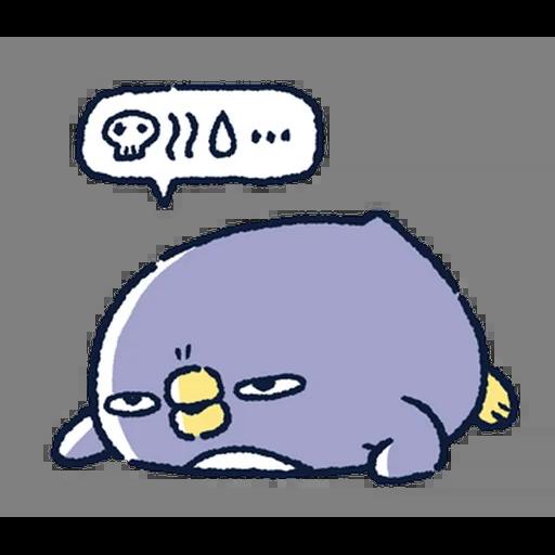 肥企鵝的內心話5 (2) - Sticker 1