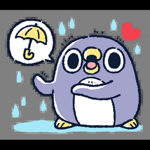 肥企鵝的內心話5 (2) - Sticker 6