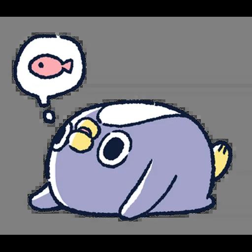 肥企鵝的內心話5 (2) - Sticker 2