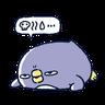 肥企鵝的內心話5 (2) - Tray Sticker