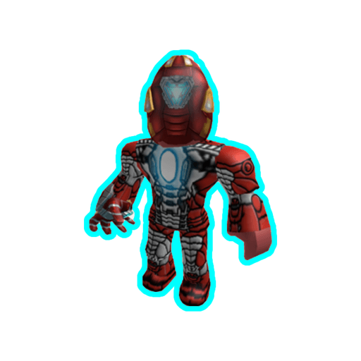 Roblox ironman - Sticker 6
