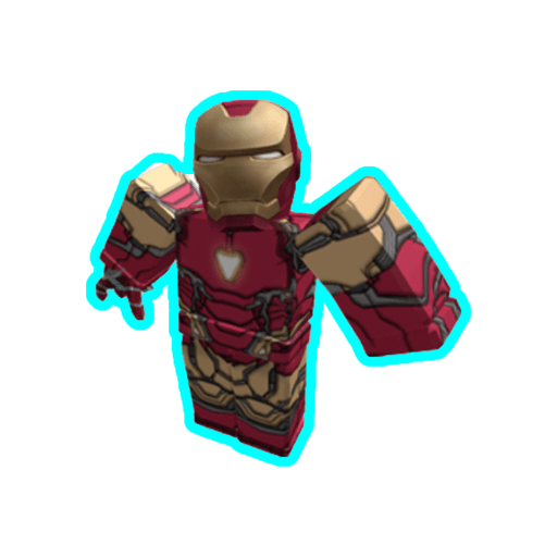 Roblox ironman - Sticker 8