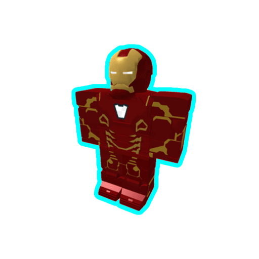 Roblox ironman - Sticker 1
